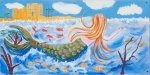 "Wendy Eccles - ""Ashby de la Zouch by the Sea Mermaid"""