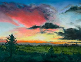 "Richard Knowles ""Saville"": ""Sunrise over Cossall"""