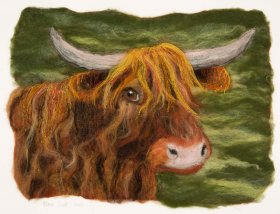 "Marie South: ""The Highland Cow"""